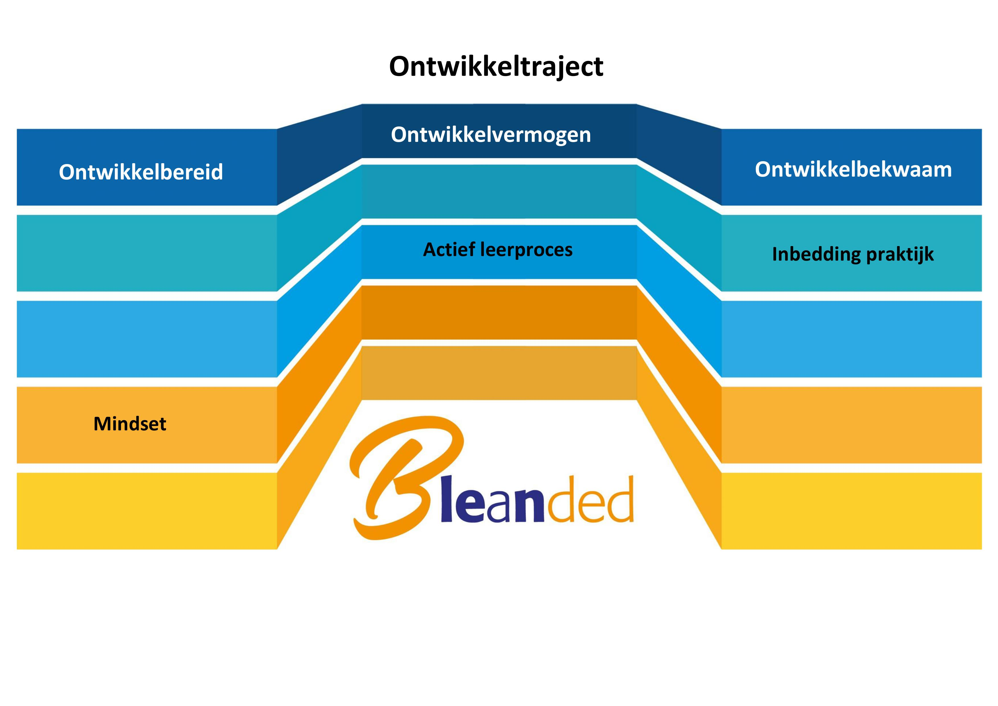 Ontwikkeltraject organisaties Bleanded