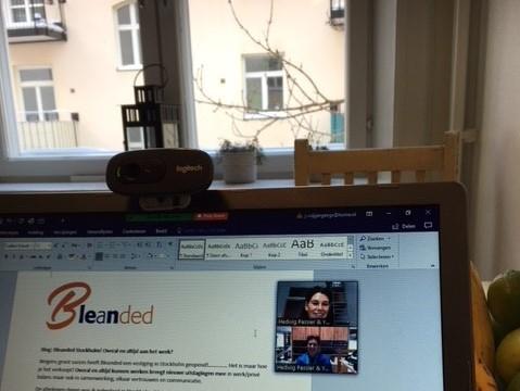 Bleanded Stockholm! Altijd en overal aan het werk?
